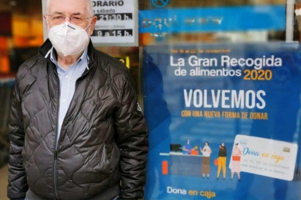 Pedro Sobrado apoya la Gran recogida 2020