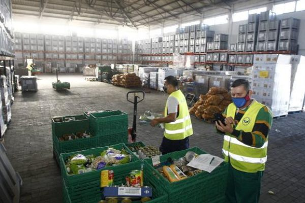El Banco de Alimentos recauda en Cantabria 350.000 euros, el triple de lo esperado