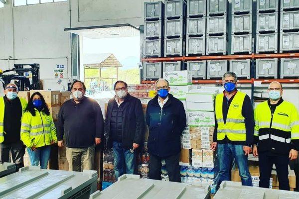El ayuntamiento de Castañeda nos dona 4 toneladas de alimentos con ocasión de la Gala Solidaria