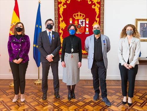 El Banco de Alimentos de Cantabria recibe la Medalla al Mérito de Protección Civil